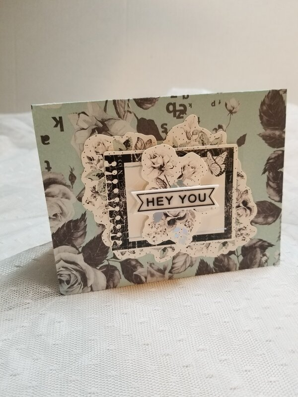 Hey you card by Monique Nicole Fox
