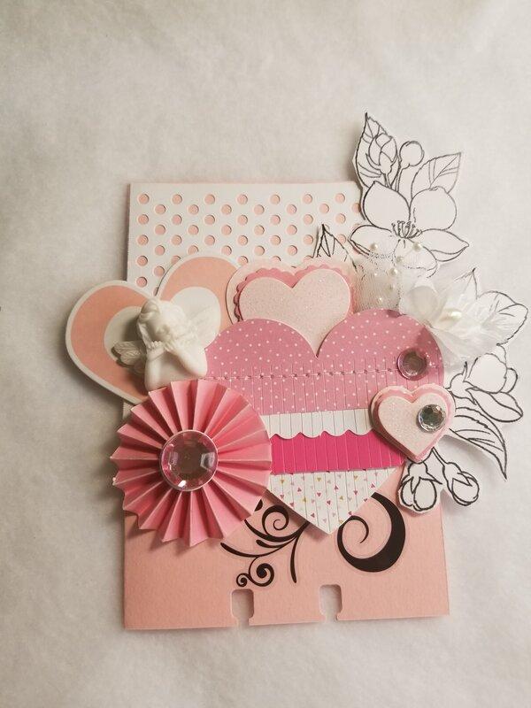 Pretty in pink memorydex card by Monique Nicole Fox