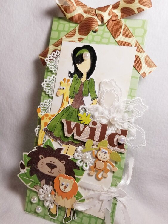 Wild side Julie Nutting tag by Monique Nicole Fox