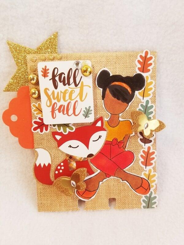Fall Julie Nutting memorydex card by Monique Nicole Fox