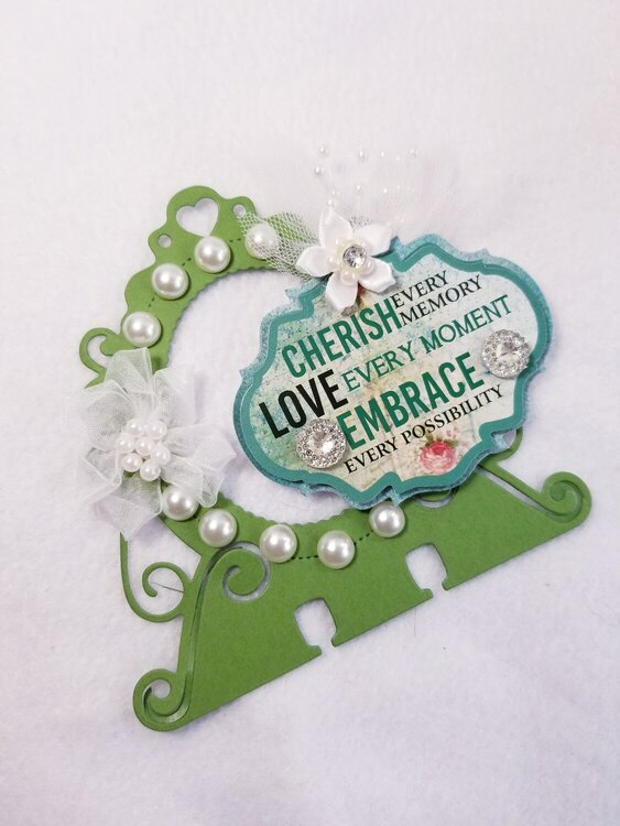 Cherish every memory, love every moment, embrace every possibility memorydex card by Monique Nicole Fox
