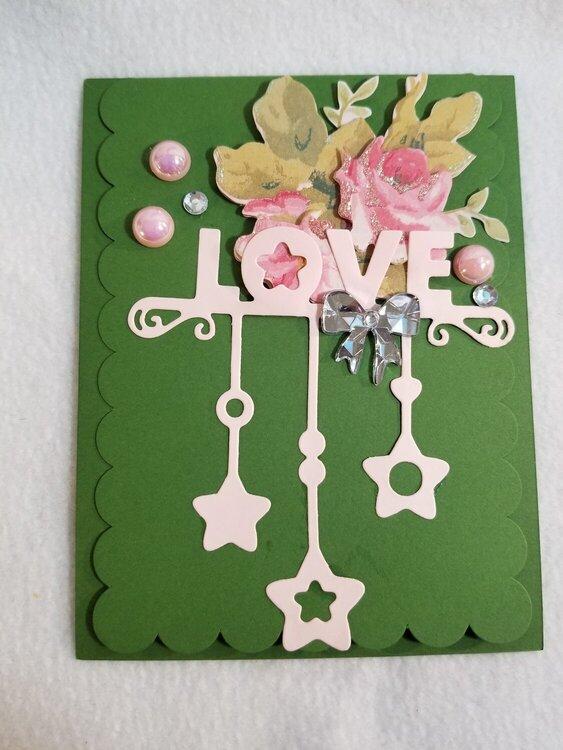 Love card by Monique Nicole Fox