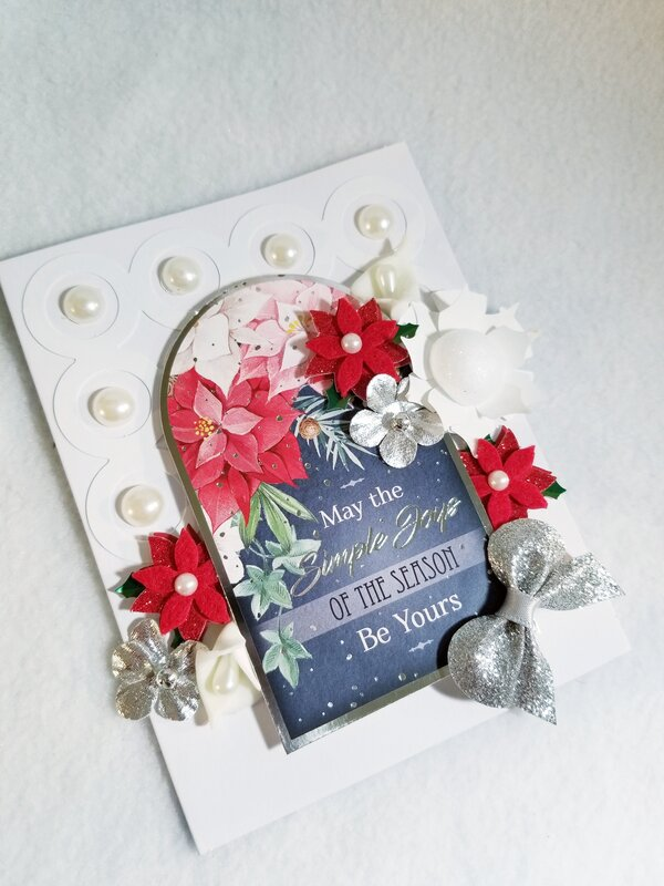 May the simple joys of the season be yours card by Monique Nicole Fox