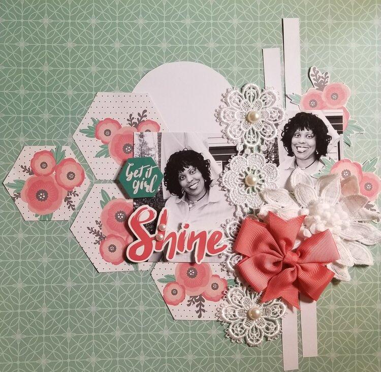 Shine by Monique Nicole Fox (DT of Let's Get Sketchy)