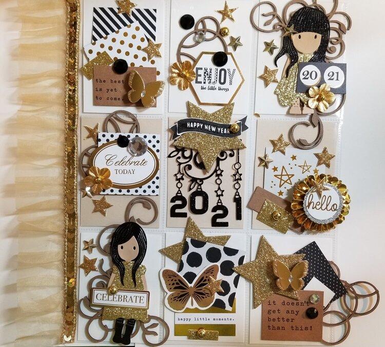 Happy New Year Pocketletter by Monique Nicole Fox