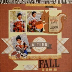 Fall is in the air ***Echo Park Paper***