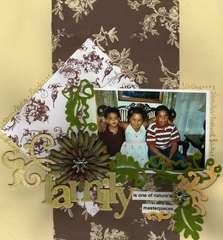 Family:  Siblings Adam, Nadia and Xavier