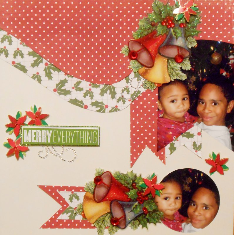 Merry Everything  **Page Drafts Christmas Cheer**