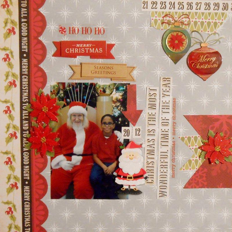 Ho Ho Ho Merry Christmas  ***Page Drafts Christmas Cheer***