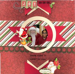 Joy  ***Page Drafts Christmas Cheer***