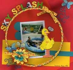Sky Splash: Sesame Place 5/09