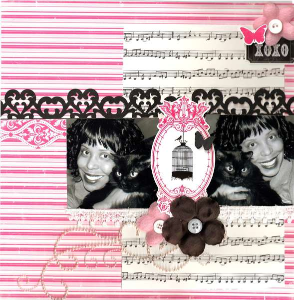 XOXO  **Creative Scrappers Sketch # 183**