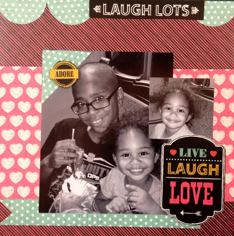 Live Laugh Love ***DCWV Oct Sketch Challenge***