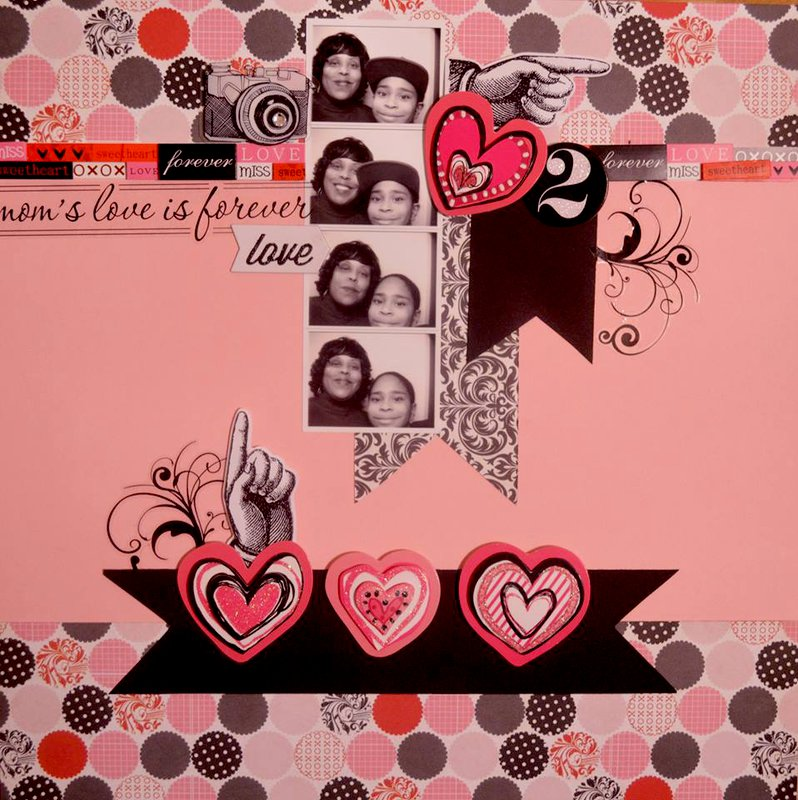 Mom's Love Is Forever  ***Page Drafts***