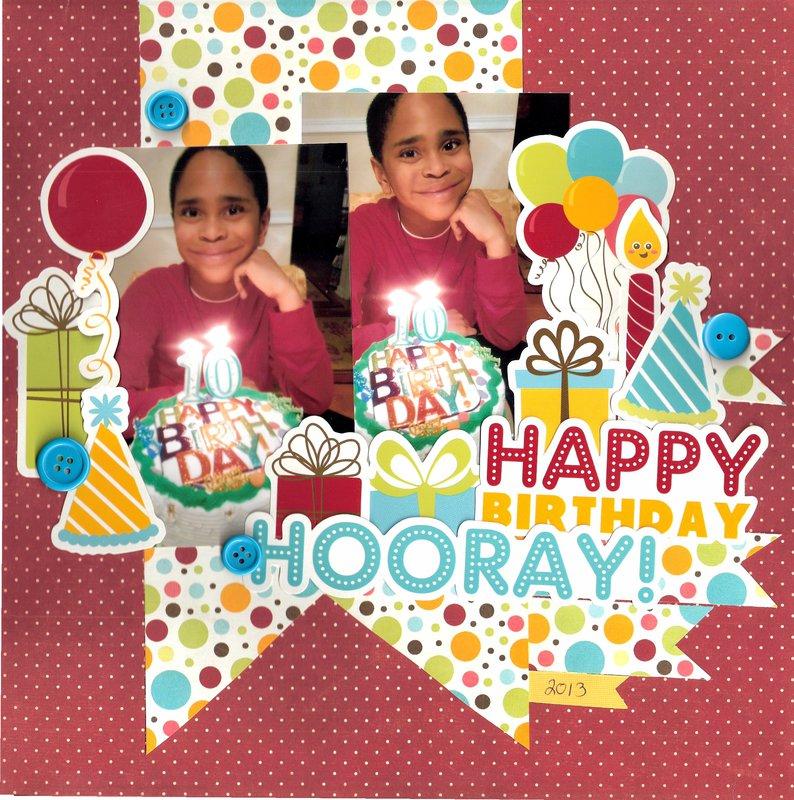 Happy Birthday Hooray  {{{Sketchabilities and Imaginisce}}}