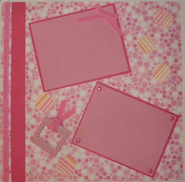 Pre-made pink page