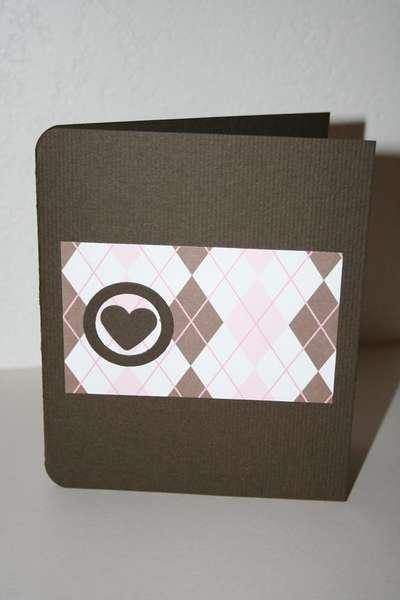Argyle HI! card