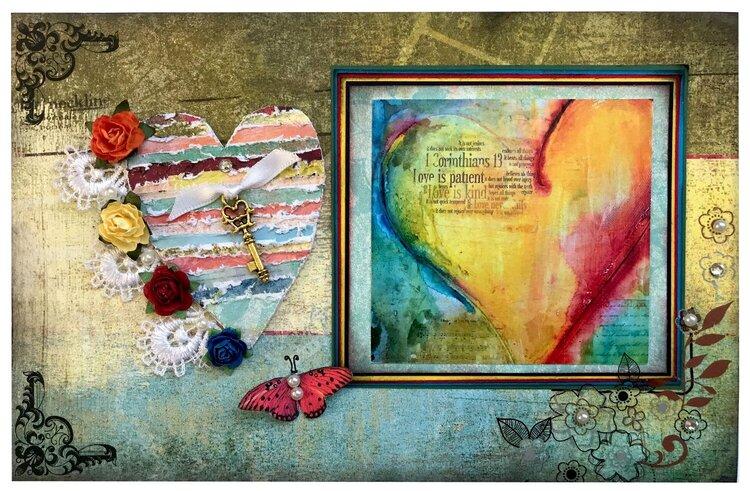 1 Corinthians 13 - Love Card