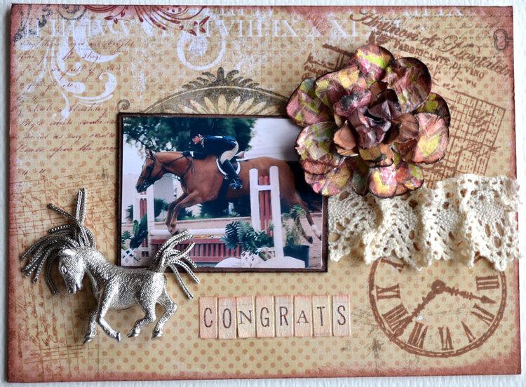 Snail Mail Challenge - Graduation card