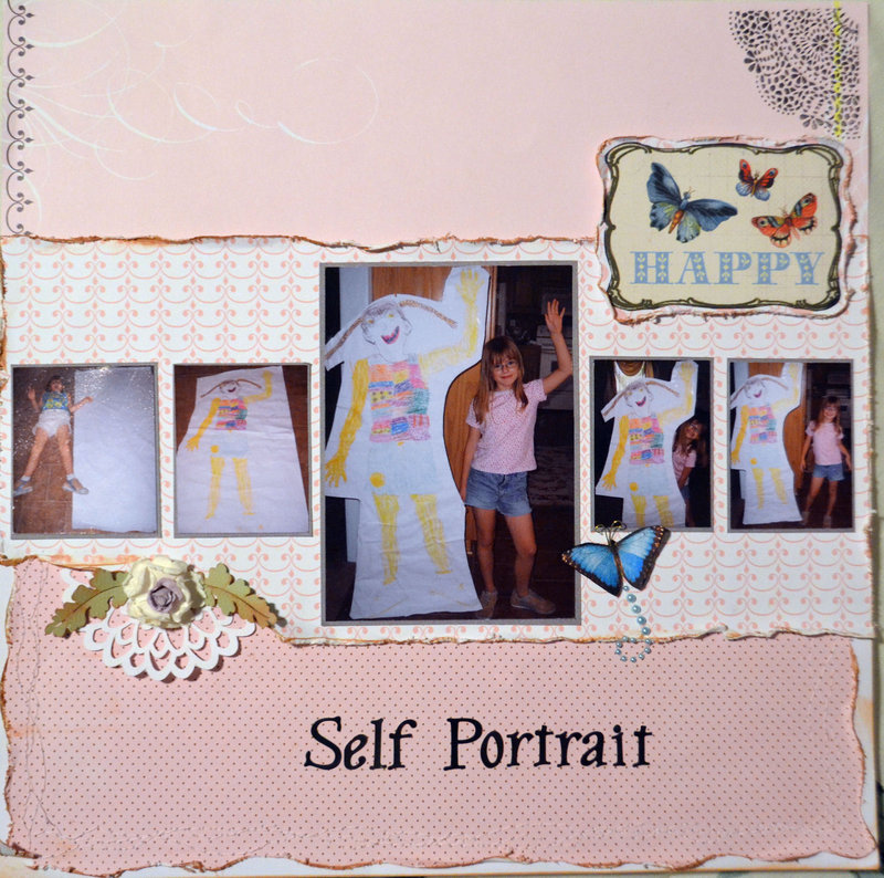 "NSD - Insta-Scrap challenge ""Self Portrait"""