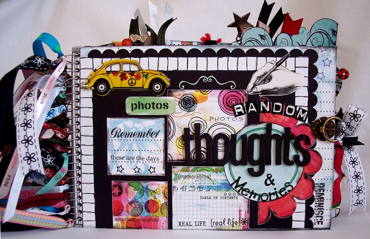 Random Thoughts & Memories Journaling Book - I'm selling on ebay, if interested