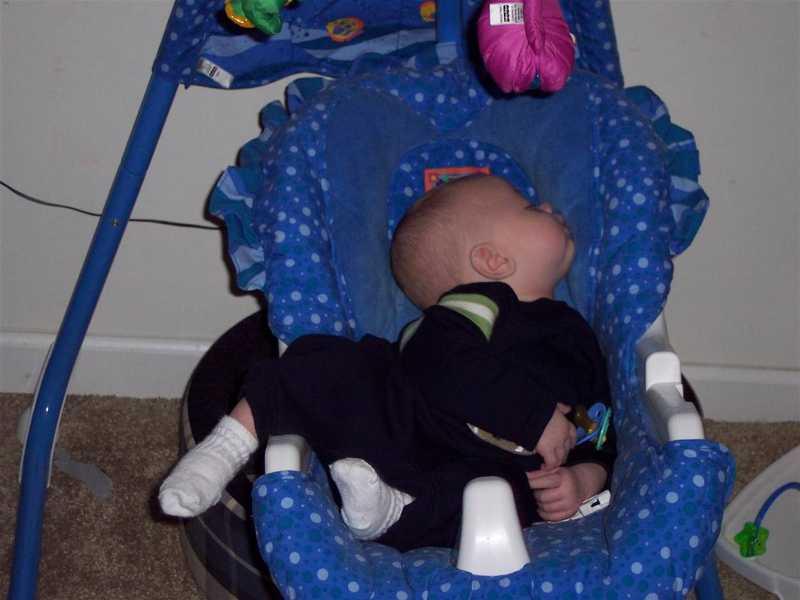Tanner crashed
