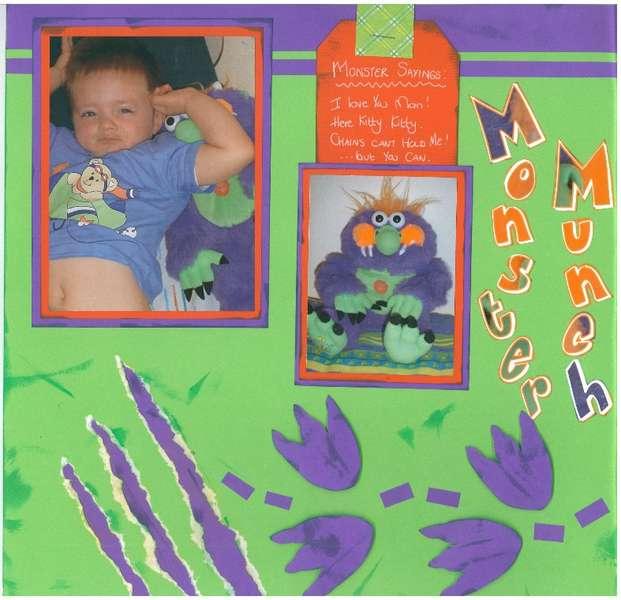 Monster Munch (left)