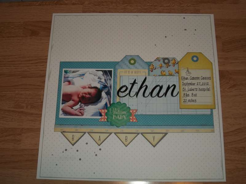 Welcome Baby Ethan...