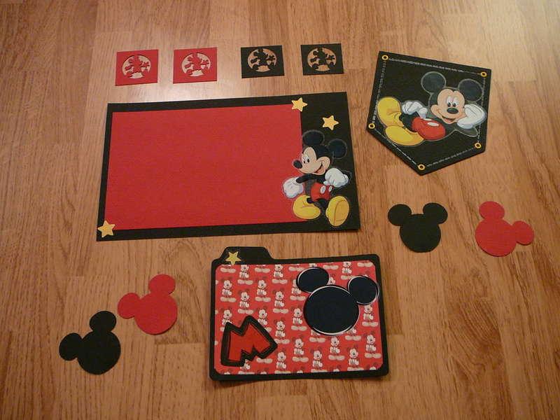 Mickey Mouse page kit