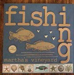 Darryl fishing on Martha's Vineyard page 1