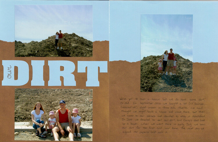Our Dirt