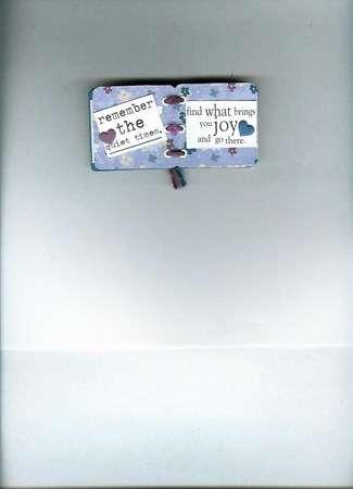 Friendship Slide Mount Mini Book Pages 3,4