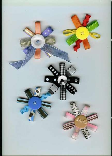 Ribbon Buttons