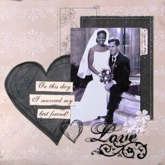 Love: Wedding Layout- Rusty Pickle
