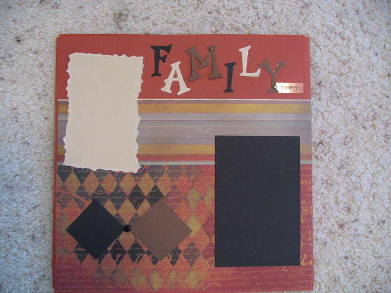 Family Times - Scrap Lift It Swap