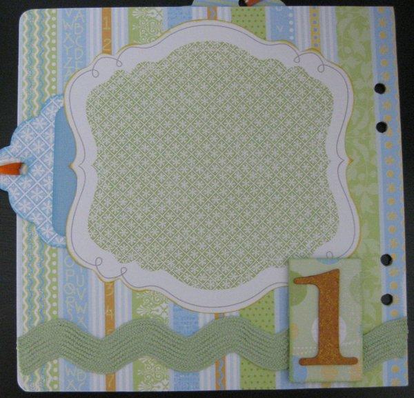 Baby Boy Mini Gift Album