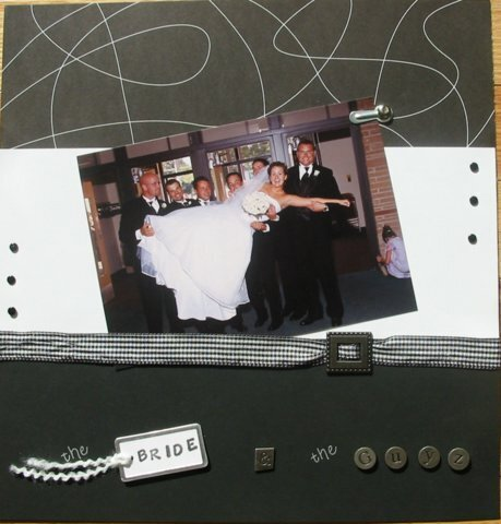 scrapvivor week1 - the bride - danielle