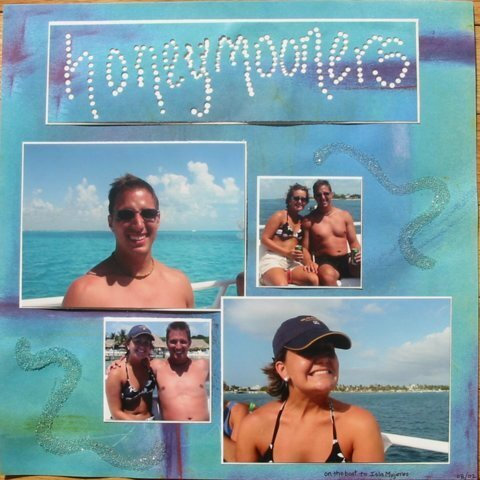 scrapvivor -wk1- honeymooners - danielle
