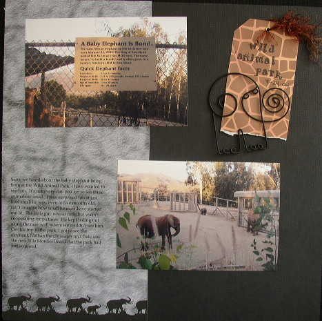 Scrapvivorweek2-Jamie-Wild Animal Park1
