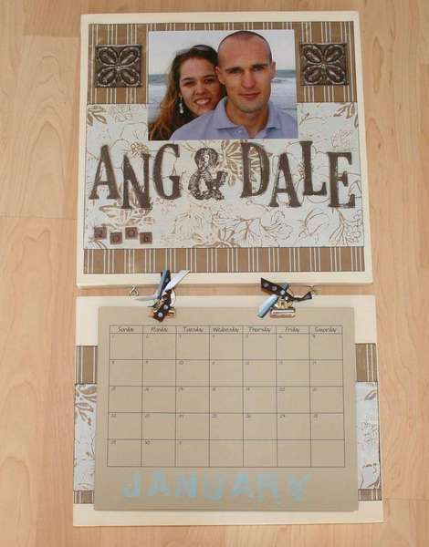 Ang & Dale Wall Calendar for 2006