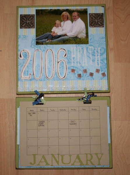 Heath Family Wall Calendar