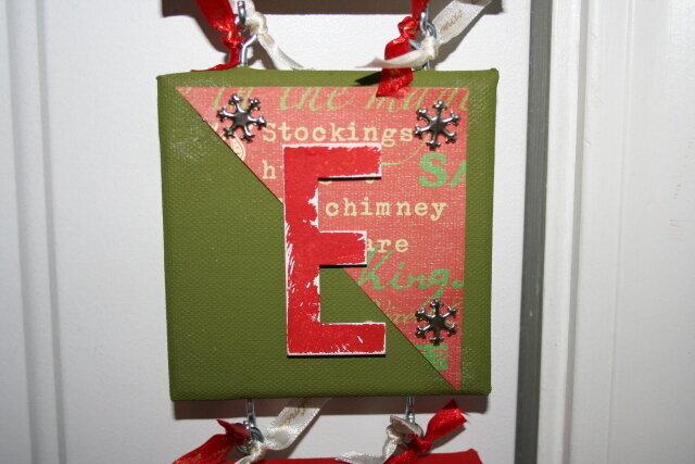 "Noel Wall Hanging ""E"""