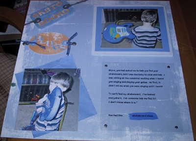 Skateboard Blues - page 1