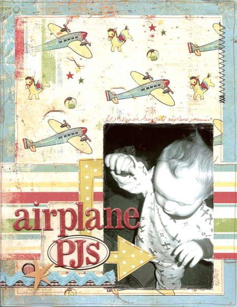 airplane PJs