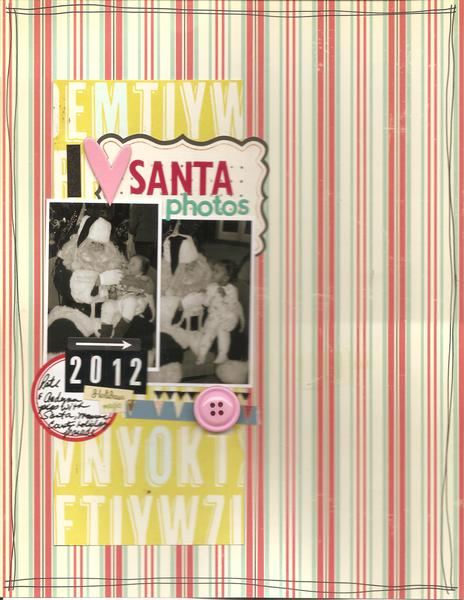 I <3 Santa photos