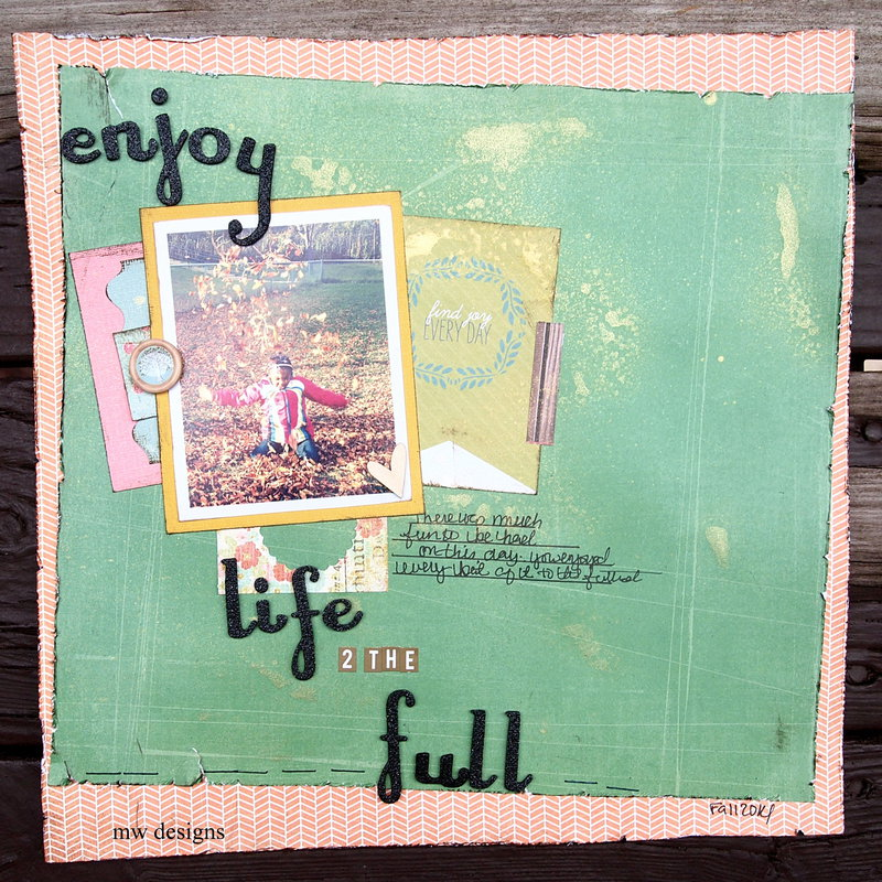 Enjoy Life To The Full