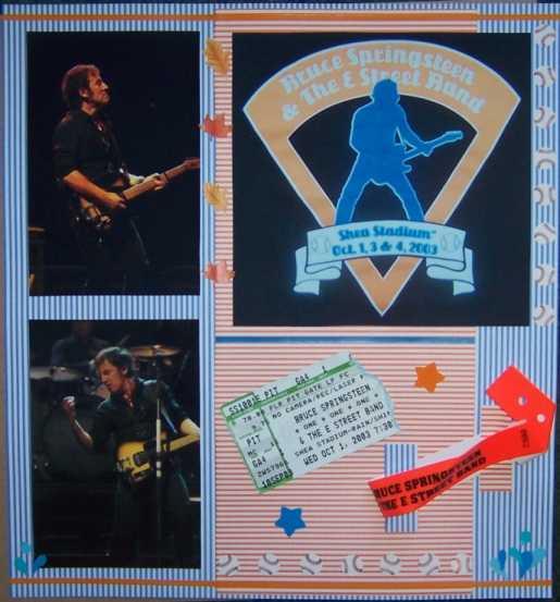 Bruce Springsteen, Shea Stadium, 10/1/03 #1