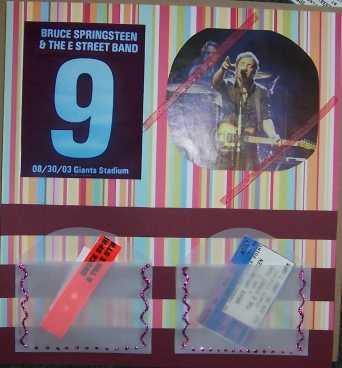 Bruce Springsteen, New Jersey, 8/30/03 #1