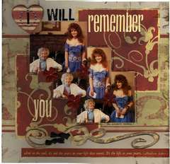 I Will Remember You