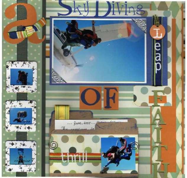 Sky Diving... A Leap Of Faith